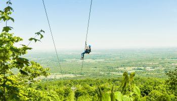 ziplining spots