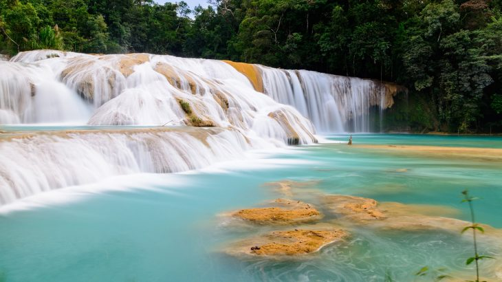 Waterfalls in Mexico
