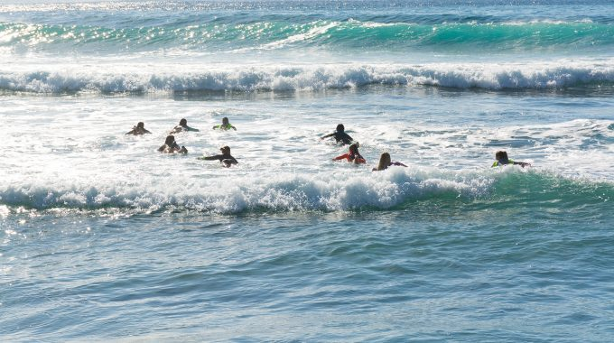 Caribbean surf schools